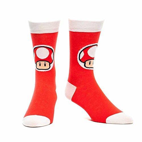 Nintendo Socken - Mushroom rot (43-46)