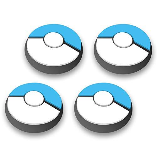 Ferkurn Thumb Grip Cap Joystick Cap for Switch Joy-con & Switch Lite Joystick, Kawaii Joycon Grip Button Cap Stick Cover Switch Controller 3D Analog Comfort Ergonomic Kit Accessories Part, Cute Skin