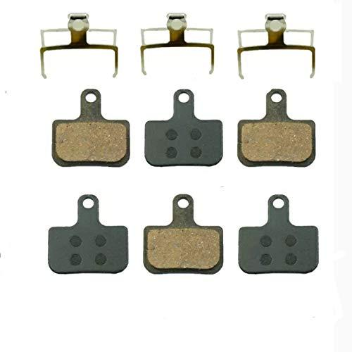 3 pares de pastillas de freno de bicicleta de montaña Para AVID Elixir y DB SRAM LEVEL TL y T / Sram Force eTap AXS Pastillas de freno Almohadillas de disco de bicicleta RESINA