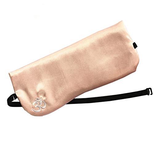 Censhaorme Seide wie Augenkissen Lavendel Cassia Seed Augenkissen Lavendel Yoga Relaxing-Augen-Flecken abnehmbare Tasche Yoga Zubehör