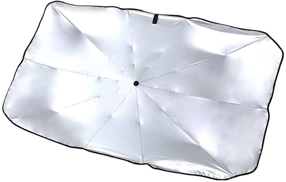 NASDIZL Car Sun Umbrella Protection Heat Parking Over item handling Genuine Insulation