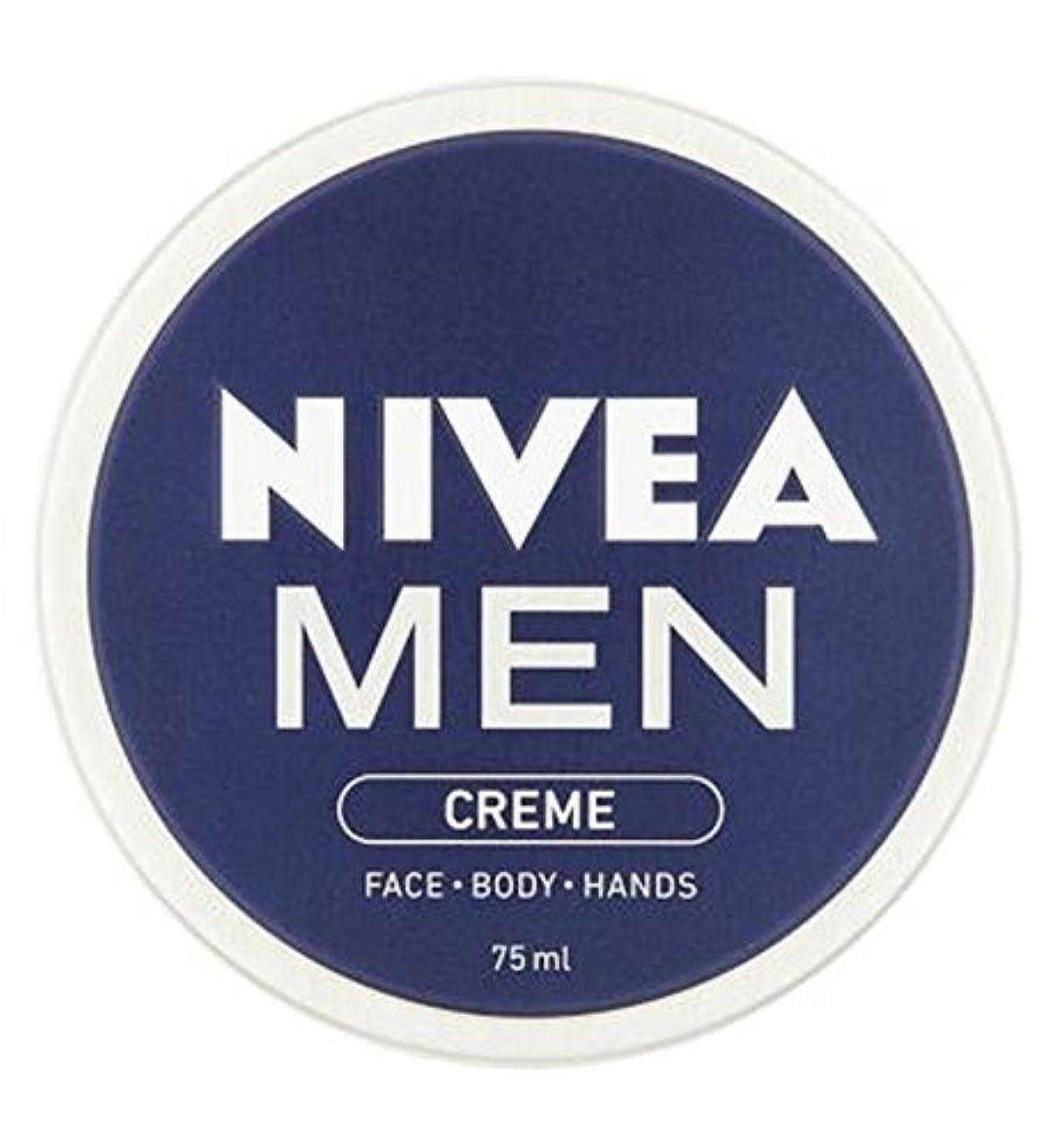 ハリウッド出発交通ニベアの男性は75ミリリットルをクリーム (Nivea) (x2) - NIVEA MEN Creme 75ml (Pack of 2) [並行輸入品]