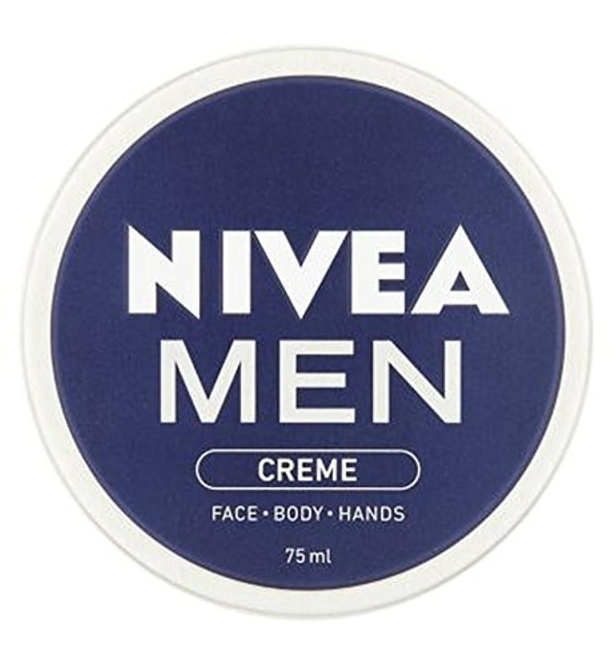 転倒合理化汚れたNIVEA MEN Creme 75ml - ニベアの男性は75ミリリットルをクリーム (Nivea) [並行輸入品]
