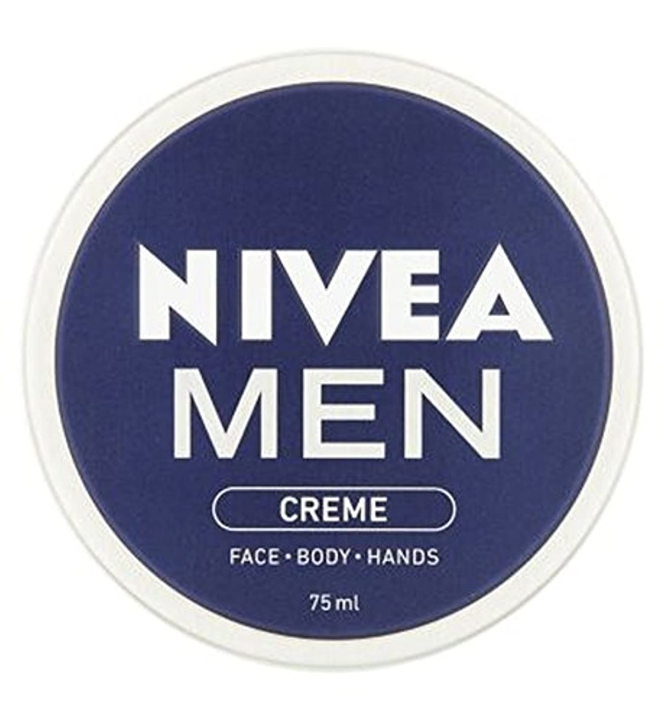 実業家膨らみ義務づけるNIVEA MEN Creme 75ml - ニベアの男性は75ミリリットルをクリーム (Nivea) [並行輸入品]