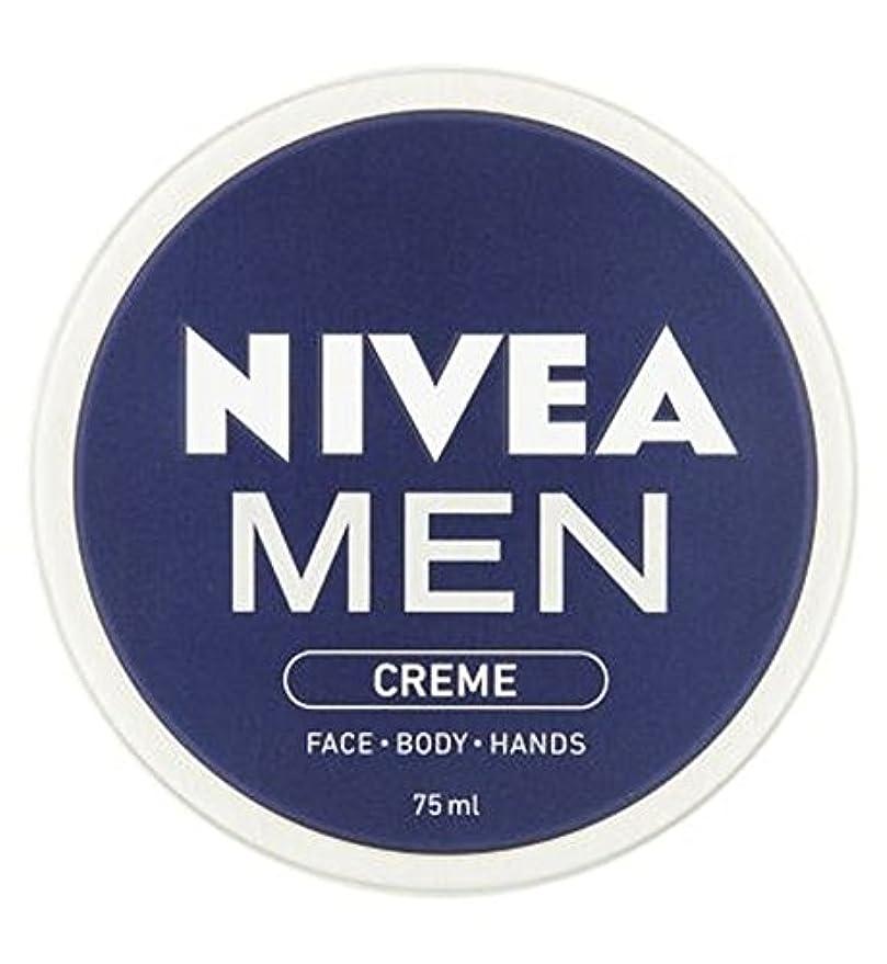 敗北手足不和ニベアの男性は75ミリリットルをクリーム (Nivea) (x2) - NIVEA MEN Creme 75ml (Pack of 2) [並行輸入品]
