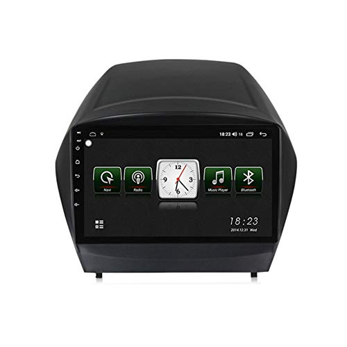 ADMLZQQ 2 DIN Autoradio Android 10 Navigatore GPS per Auto Stereo per Hyundai IX35 2009-2015 Supporta DSP Bluetooth Radio WiFi SWC+Telecamera Retromarcia,7731 WiFi:1+16g