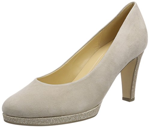 Gabor Shoes Damen Fashion Pumps, Beige (Beige/Honey), 40.5 EU
