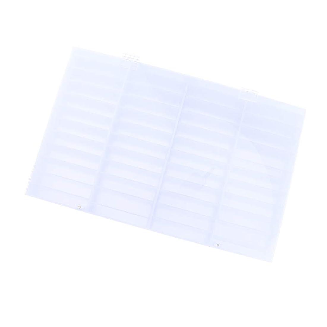 冷酷な抵抗する独立してIPOTCH ネイルチップ収納ボックス 44コンパートメント 小物入り 収納容器 ディスプレイケース