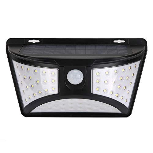 Farolillos solares al aire libre, 68 luces LED de seguridad impermeables, 120 ° de ángulo de movimiento, iluminación de techo para patio jardín pathway