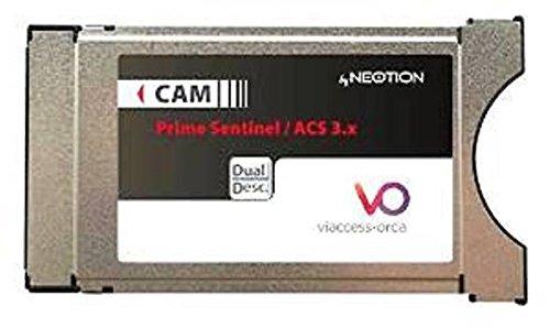 Neotion CW64 Viaccess CI Modul Secure CAM für Hotbird und Astra Kanäle(auch für Dorcel und Dorcel XXX auf Astra)