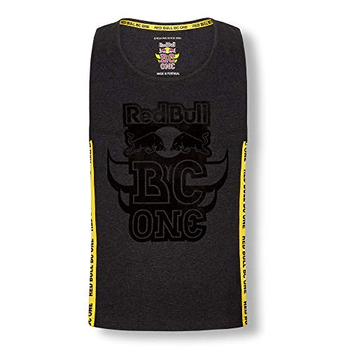 Red Bull BC One Tanktop, Gris Hombre Large Top, BCOne Freestyle Dance B-Boy...