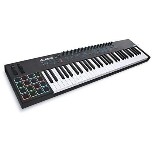 Alesis VI61 | Advanced 61-Key USB MIDI Keyboard & Drum Pad Controller (16