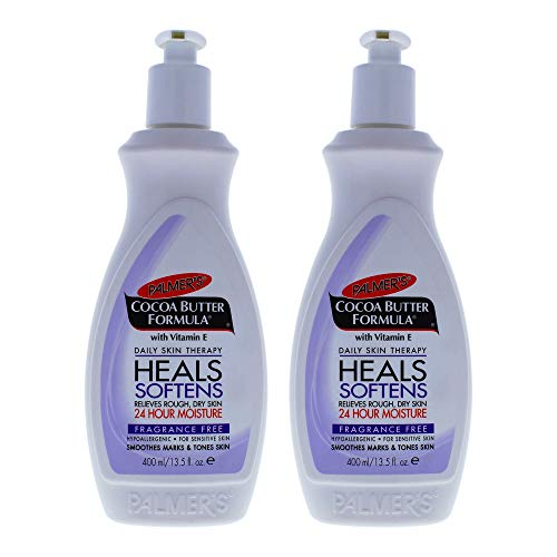Palmers Cocoa Butter Fragrance-Free Body Lotion - Pack of 2 For Unisex 13.5 oz Body Lotion