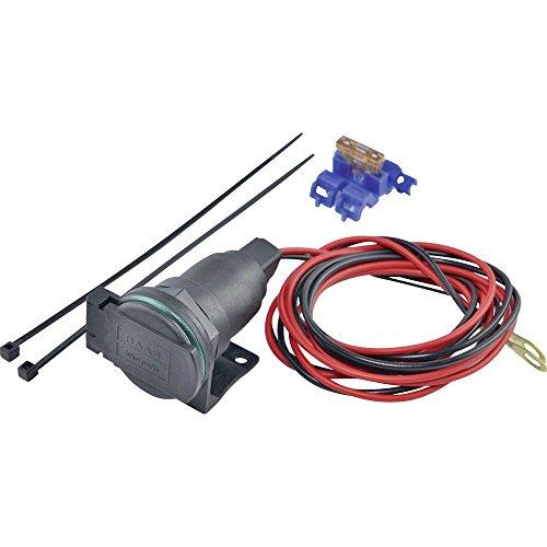 Baas Zigarettenanzünderdose mit Rohrhalter ZA02 Belastbarkeit Strom max.=5A passend für Zigarette