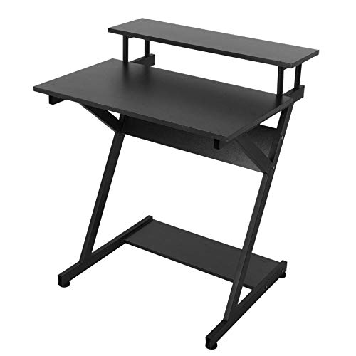Computer Desk, Laptop Desk with Storage for Controller, Study Workstation PC Desk for Home Office, Office Work Desk for student and worker, Gaming Writing Corner Table for Adults Kids