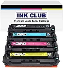 InkClub 4PK New Compatible CRG045 Color Set Toner Cartridge (Black, Cyan, Magenta, Yellow) Replacement Use for LBP-612, LBP-612CDW, MF-632, MF-632CDW, MF-634, MF-634CDW Printers