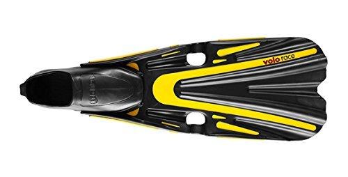 Mares Erwachsene Flosse Volo Race, Yellow, 42/43