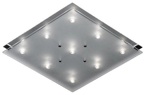 Trio 6315091-06 Deckenleuchte inklusive Leuchtmittel, Bestückung: 9 x 20 Watt G4