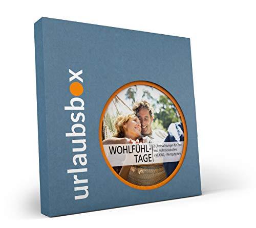 Urlaubsbox Wohlfühltage - Wellness Kurzurlaub für Zwei in Geschenkbox