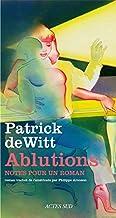 Ablutions: Notes pour un roman (Romans, nouvelles, récits) (French Edition)