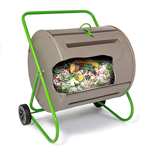 Find Discount Tumbleweed 37 Gallon Compost Tumbler - Recycle Organic Waste Into Rich Compost