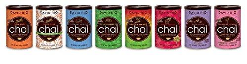 Selezione gamma David Rio Chai 8 barattoli 1 x tipo