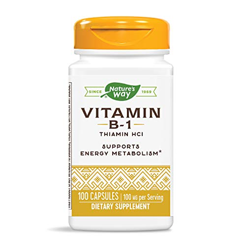 Nature's Way - Vitamine B-1 100 mg - 100 Capsules