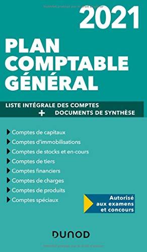 Plan comptable général 2021 - Plan de comptes & documents de synthèse: Plan de comptes & documents de synthèse (dépliant séparé) (2021)