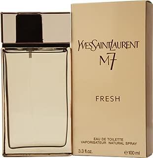 M7 Fresh by Yves Saint Laurent for Men. Eau De Toilette Spray 3.4-Ounces
