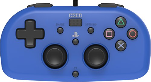 Hori - Mando Mini con cable (Azul) (PS4/PC)