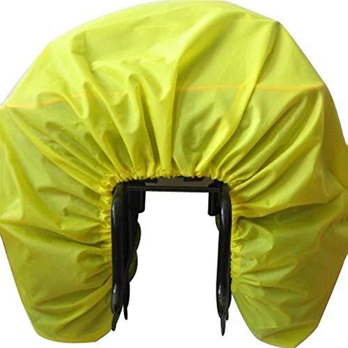 BAGFP Fahrradtasche Rennrad Rücksitz Regenschutz Gepäck wasserdichte Tasche Regen Staubschutz Schutzausrüstung Faltbare Fahrradzubehörtasche Mountainbike Rücksitztasche