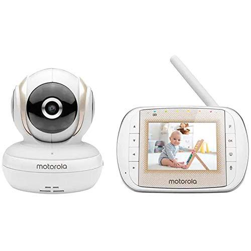 Babá Eletrônica Motorola MBP30A, Motorola, Branca