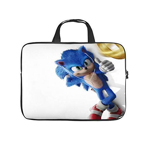 Universal Laptop Computer Tablet,Bag,Cover for, Apple/MacBook/HP/Acer/Asus/Dell/Lenovo/Samsung, Laptop Sleeve,SSO-nic The Hedgehog (Movie) 1c,12inch/32x24x1.5cm