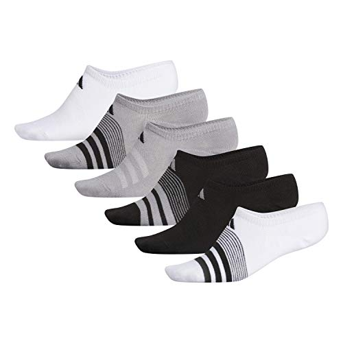 adidas Women's Superlite Super No Show Socks (6-Pack)