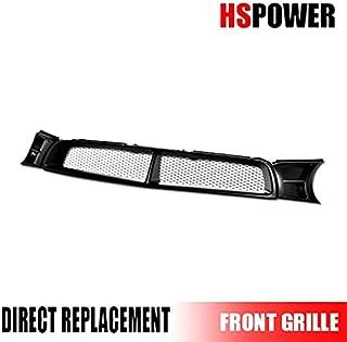 HS Power Matte Bk Sti Badgeless Mesh Front Hood Bumper Grill Grille For 02-03 Impreza Wrx MPN: SU1200123