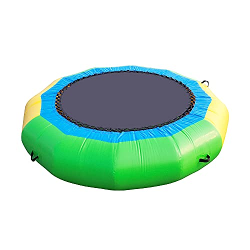 Water Trampoline for Lake, UeeVii 10Ft Water Bouncer, Great Bounce, Easy to Set up and Store