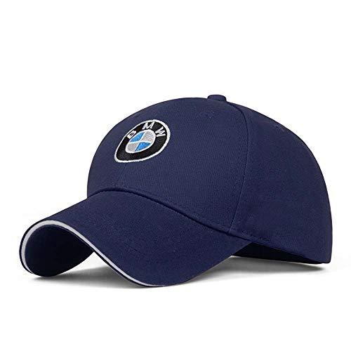Baseballmütze, mit Auto-Logo, verstellbar, Unisex, für BMW (blau)