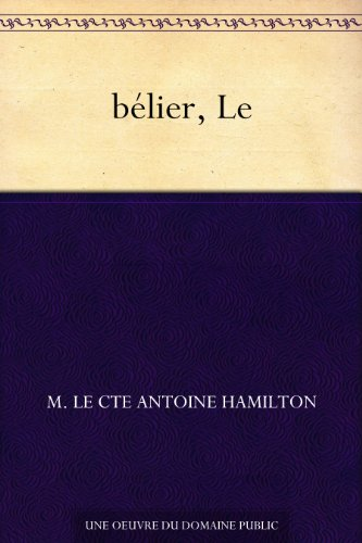 Couverture du livre bélier, Le