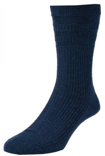 HJ HALL Herren Socken Softop HJ90 - EU 39-45, Dunkel Marineblau