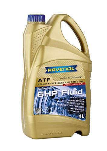 RAVENOL J1D2110-004 ATF (Automatic Transmission Fluid) - 6HP Fluid for ZF 6HP Transmissions (4 Liter)