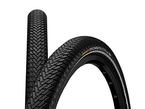 Continental Top Contact Winter II Premium Fahrradreifen, schwarz, 26