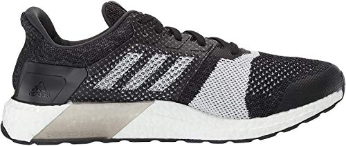 adidas Men's Ultraboost ST, Black/White/Carbon, 6.5 M US