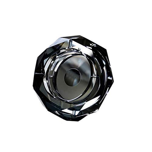 Preisvergleich Produktbild NZ-ashtray Aschenbecher Glas Staubdicht Wasserdicht Home Office Mode Einfach Liefert (Größe: 18 cm)