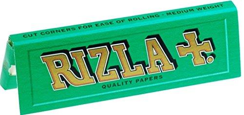 Cartine Rizla Verdi, misura Regular, 20 confezioni Green