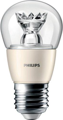 Philips Master LED-Leuchtmittel, 6W (40W Ersatz), Golfball-Form, dimmbar, E27Edison-Schraube, Old Single, E27 (Edison Screw) 230 volts