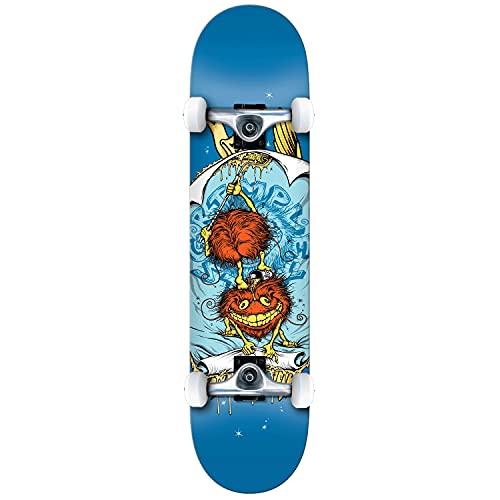 Anti Hero Grimple Glue XL Factory - Skateboard completo, colore: Blu