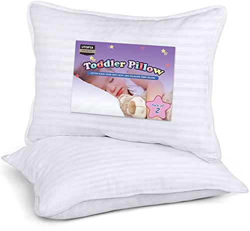 Utopia Bedding 2 Pack Toddler Pillow - Baby...