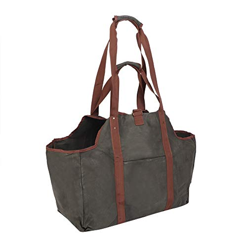 Duokon Premium Firewood Log Carrier & Tote Bag - Large Thickened Firewood...