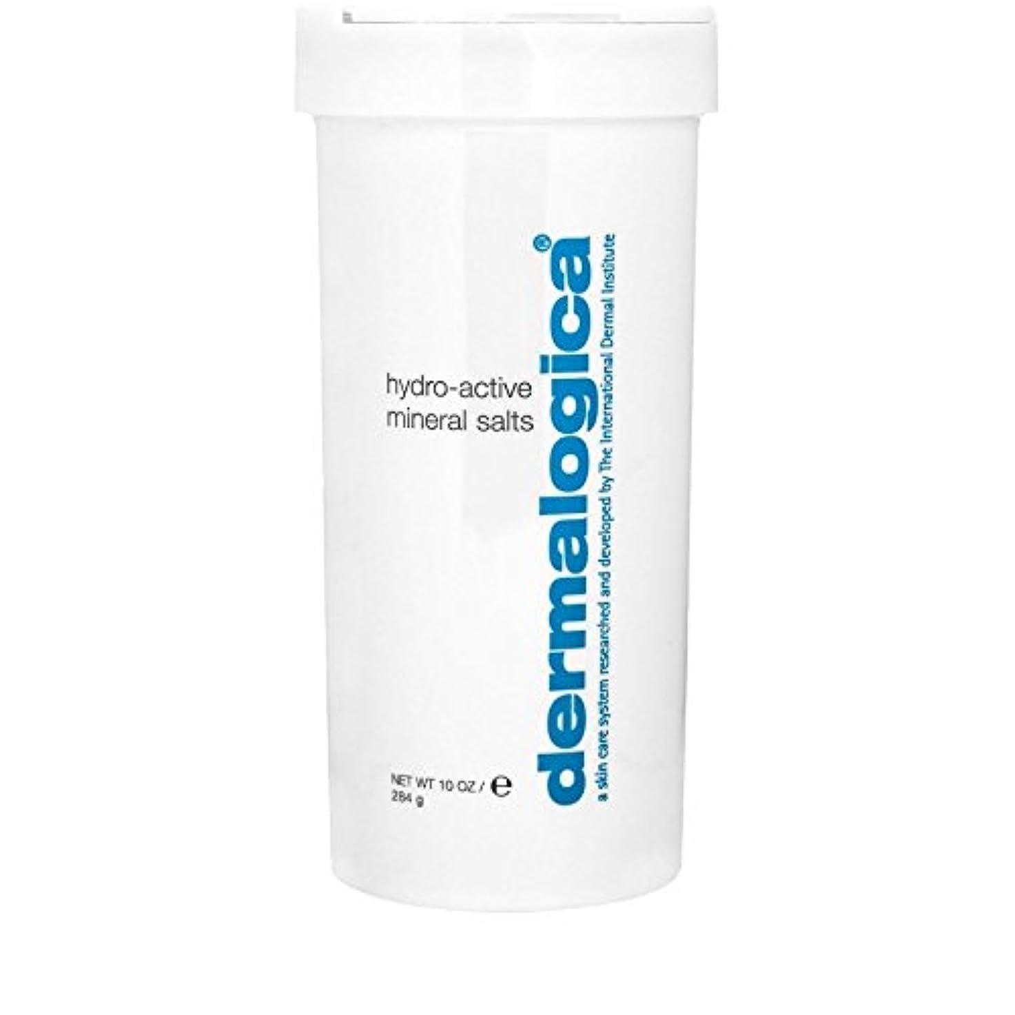 多年生解読するタイヤDermalogica Hydro Active Mineral Salt 284g (Pack of 6) - ダーマロジカ水力アクティブミネラル塩284グラム x6 [並行輸入品]