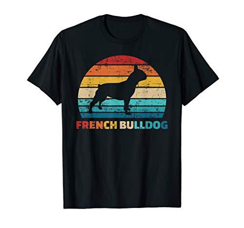 Französische Bulldogge vintage T-Shirt